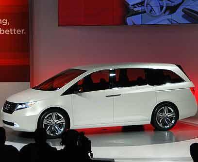 Honda Odyssey 2011 Honda presentó un concepto de su próximo modelo de pr...
