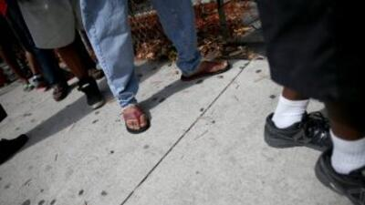 La cifra de personas sin techo en Estados Unidos descendió un 3.7 por ci...