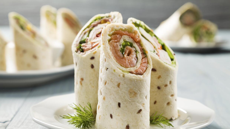 Checa estas cinco ideas para el relleno de los arrolladitos salados.