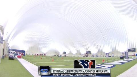 Noticias 45 tuvo acceso exclusivo a las Instalaciones de los Houston Texans
