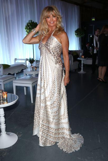 La actriz y abuela de 67 años le gusta disfrutar de la moda y man...