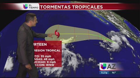 Se forma un huracán en el Pacífico