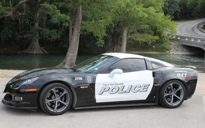 New Braunfels PD gets a new police cruiser