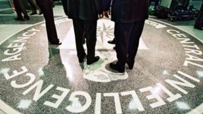 Entrada al cuartel general de la CIA.