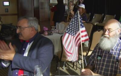 Republicanos se reunieron en Irving para celebrar la posesión de Donald...