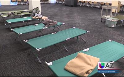 Residentes de Yarnell se encuentran seguros en refugio de Prescot