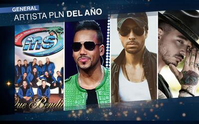 Estos caballeros están nominados a Artista Premio Lo Nuestro del Año, ¿c...