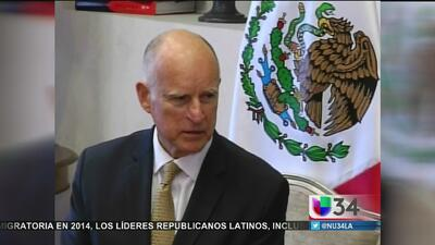 Gobernador de California con apretada agenda en México