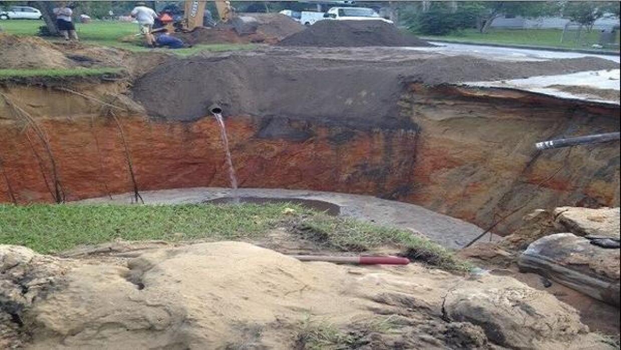 FL: Se abre otro sumidero cerca de Orlando