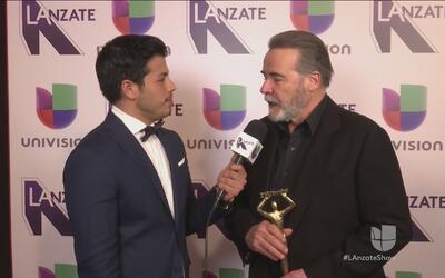 César Évora nos confesó que le sorprendió ganarse este premio Tv y Novelas