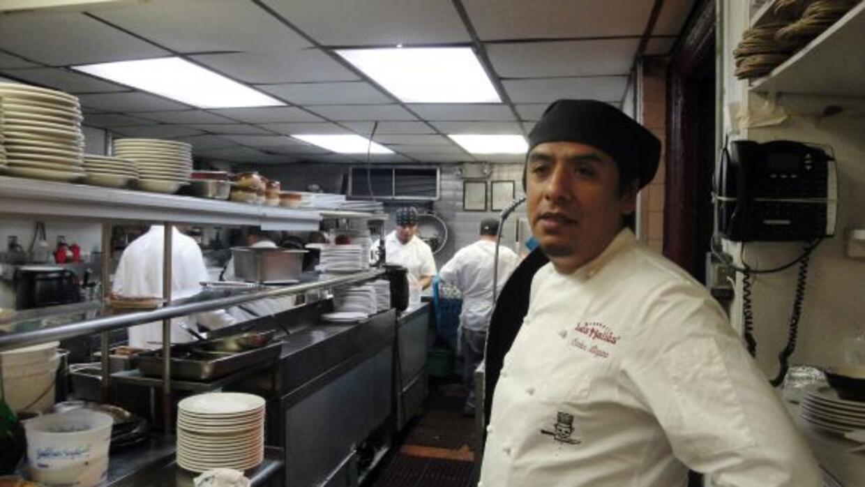 Carlos Llaguno era el chef del reconocido restaurante Les Halles de Nuev...