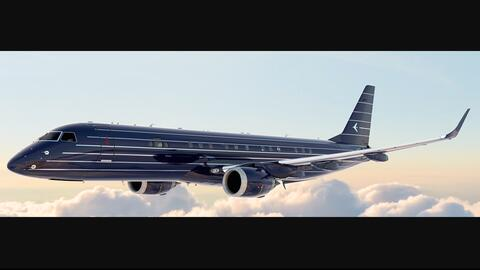 Embraer Lineage 1000E Manhattan Airship