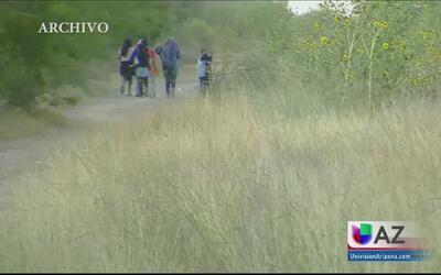 Un inmigrante salvadoreño relata las penurias que vivió en su travesía a...