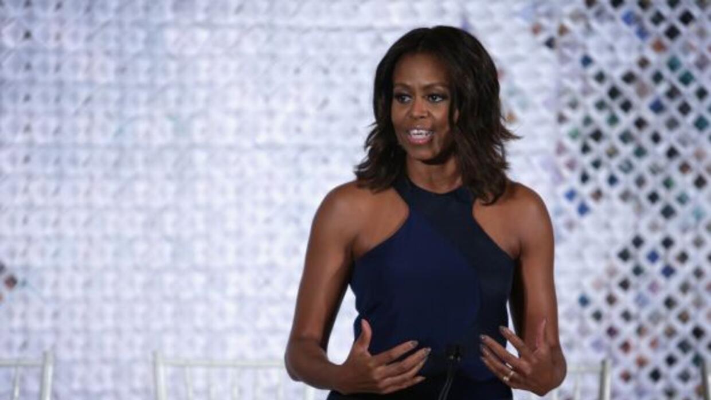 Michelle Obama grabó un anunció invitando a los texanos a votar por Wend...