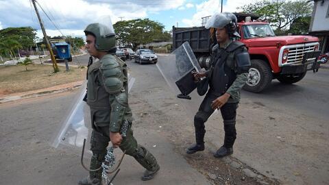 Mineros venezolanos