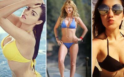Maite, Anahí y Dulce María en bikini