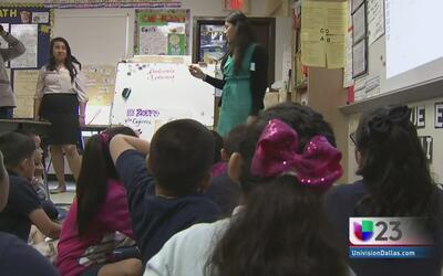 Buscan profesores en Distrito Escolar de Dallas