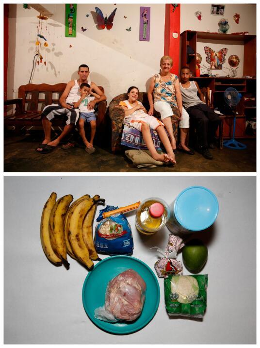 Por la escasez de alimentos y el alto costo de la vida, Álida González y...