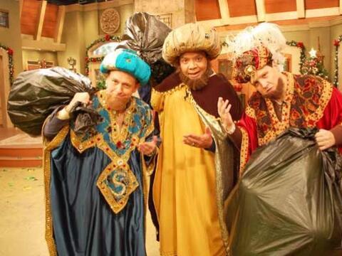 Los Reyes Magos llegaron con muchos regalos a Despierta América.