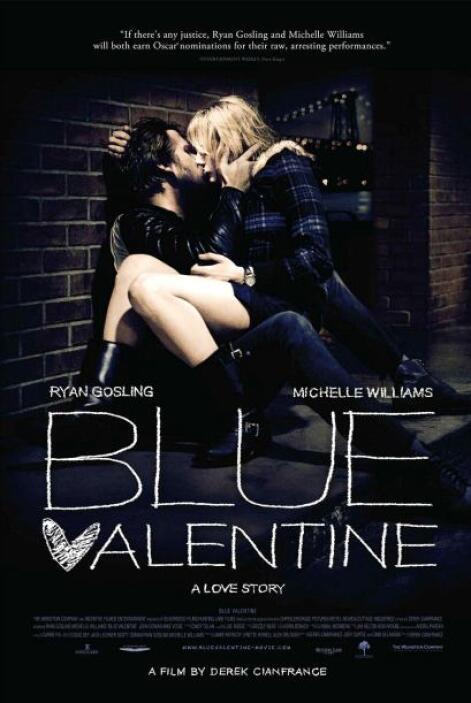 """""""Blue Valentine"""": las relaciones de pareja, el desgaste de una relación,..."""