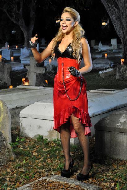 Josephine estuvo bastante asustada, pues los zombies la persiguieron has...