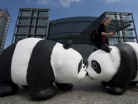 Mil 600 pandas serán desplegados en ciudades clave de Alemania pa...