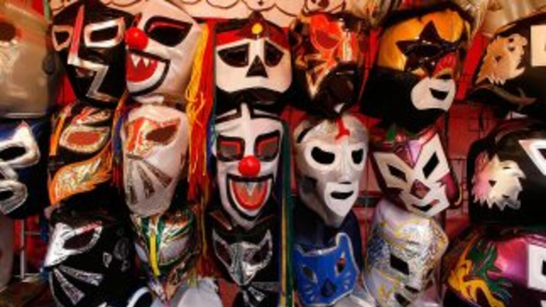 Las máscaras son parte de la cultura mexicana.