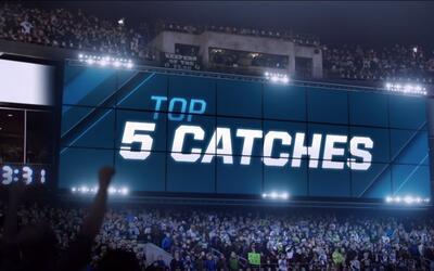 Las recepciones más asombrosas de la Semana 9 NFL