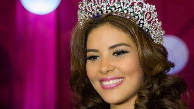 Familiares buscan a Miss Honduras desaparecida