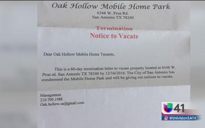 Continúa disputa por desalojos en Oak Hallow