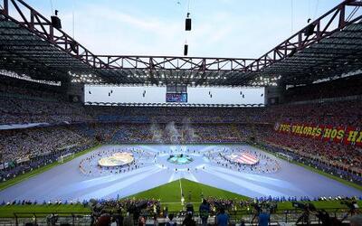 Las mejores imágenes de la final de la Champions 2016 de Milán.