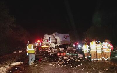 Un accidente de tránsito deja un muerto y un herido