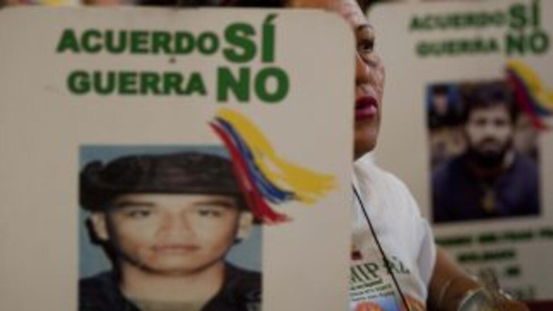 El Ejército colombiano admitió que desconoce el paradero de unos 50 mili...