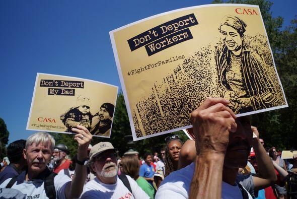 Las protestas para pedir un alto a las deportaciones no son las primeras...