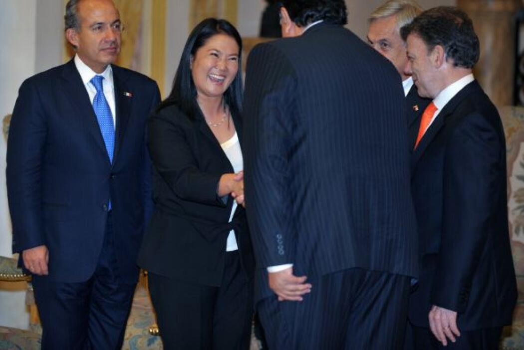 La hija del presidente Alberto Fujimori, ha ido ganando simpatizantes en...