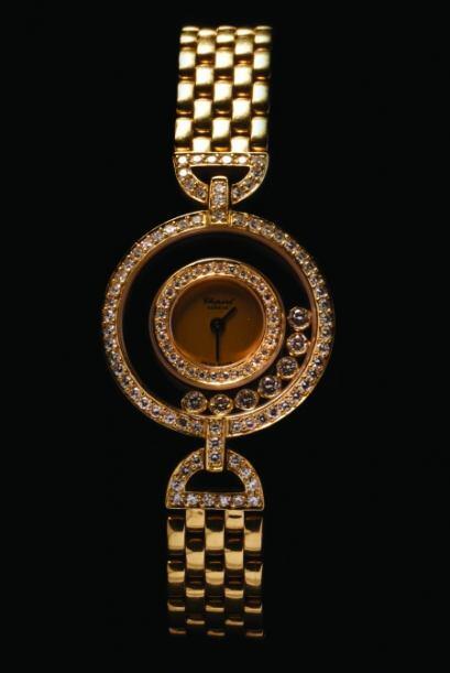 Reloj de pulso para dama, marca Chopard. (Foto: Cortesía SAE).