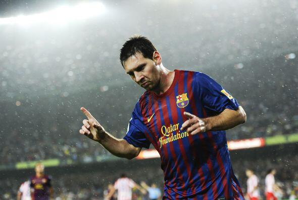 Messi marcó un 'hat-trick' y causó un autogol en favor de...