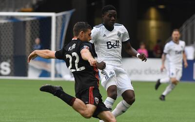 Vancouver Whitecaps cayó 1-0 en casa ante D.C. United.