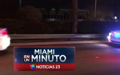 'Miami en un Minuto': un hombre muere atropellado cuando intentaba huir...