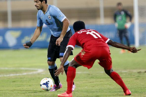 El uruguayo sólo ha tenido la oportunidad de mostrar su capacidad golead...