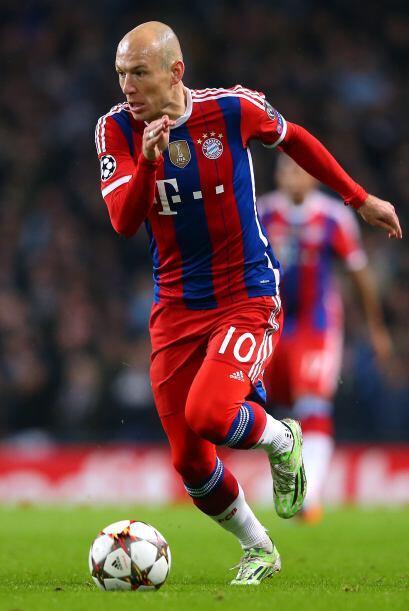 Arjen Robben: Pero si se trata de habilidad, nadie como Robben. El fenóm...