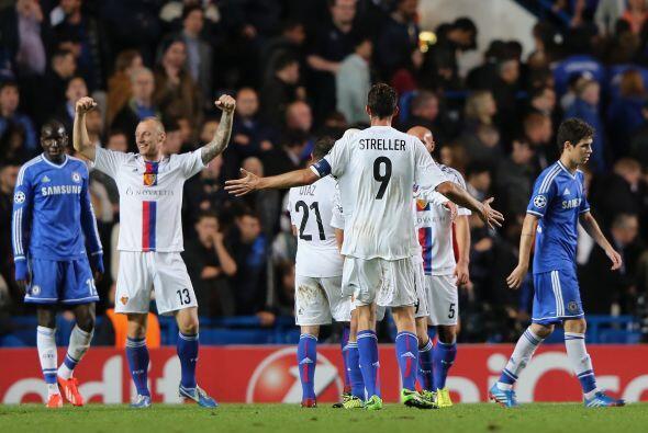 El marcador ya no cambió y Stamford Bridge fue sorprendido con la victor...