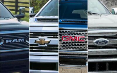 Ram, Chevrolet, GMC y Ford pelean codo a codo el mercado de las pick ups...