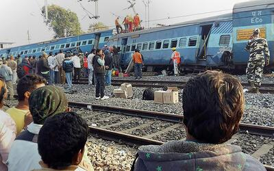 Accidente ferroviario en India