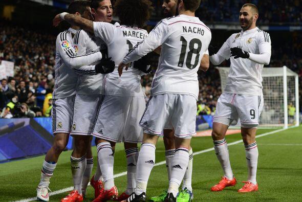 El Madrid ganaba 1-0 sin mayores esfuerzos y con ello podría cont...