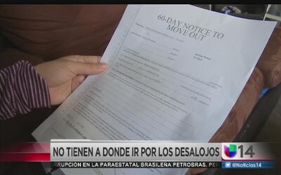 Familias enfrentan el desalojo en Redwood City
