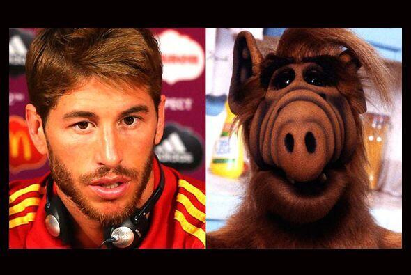 A Sergio Ramos le gusta llamar la atención y qué mejor que...