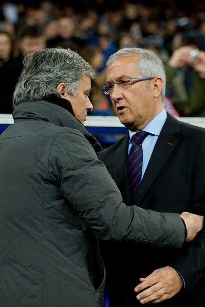 Morinho no se lleva bien con todos los técnicos de la Liga pero sí con G...