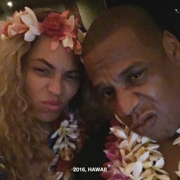 Beyoncé publicó la sesión de fotos de su embarazo e imágenes de su relac...