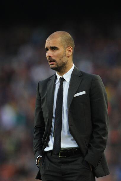 Guardiola: La batuta de este Barça la ha llevado el técnico Pep Guardiol...